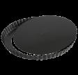 Tærtefad, Ø 27,5 cm, sort