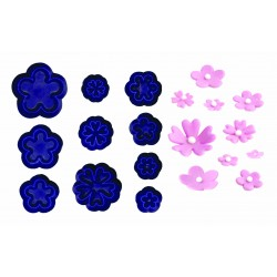 Small Daisy/Blossom & Primula - Set of 10