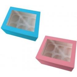 Muffin- og cupcakebox, 2 stk., Dr. Oetker