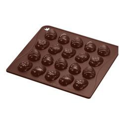 Chokoladeform med påskeæg i silikone, 20 stk, Dr. Oetker