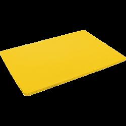 Skærebræt, gul, HACCP