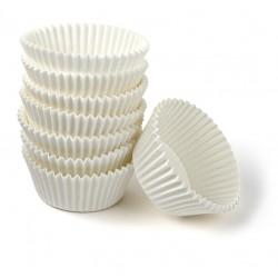 Muffinsforme, 100 stk., hvid