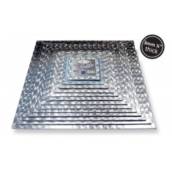 Kagepap kvadratisk 25,4  x 25,4 cm PME
