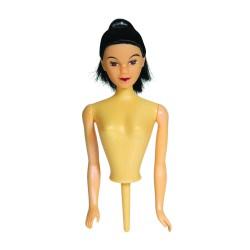 Kagedukke med sort hår, PME