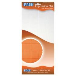 Prægemåtte, store firkanter, PME