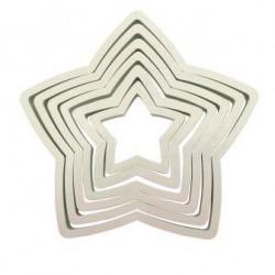 PME Star Cutters Set/6