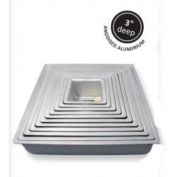 Kageform dyb 40,64 x 40,64 cm, kvadratisk, PME