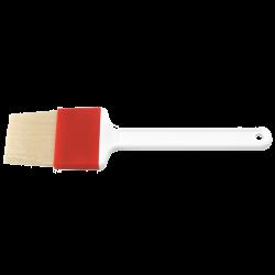 Bagepensel, bredde 6 cm, rød/hvid