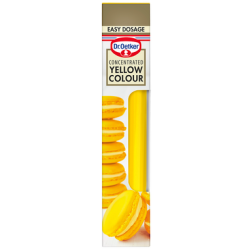 Yellow Colour, Concentrated, Dr. Oetker