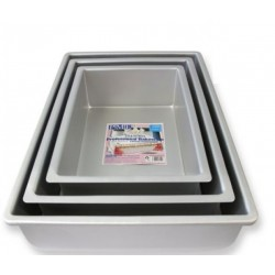 Kageform dyb 38,1 x 25,4 cm rektangulær, PME