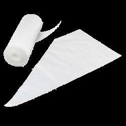 Sprøjteposer med anti-slip, engangs, 100 stk.