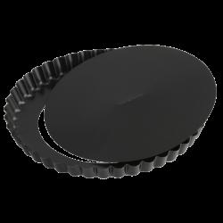 Tærtefad, Ø 20 cm, sort