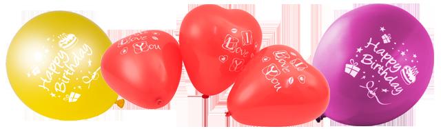 Balloner-blandet