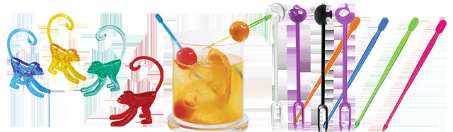 Cocktailtilbehor-blandet