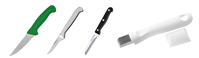 Grontsagsknive-blandet