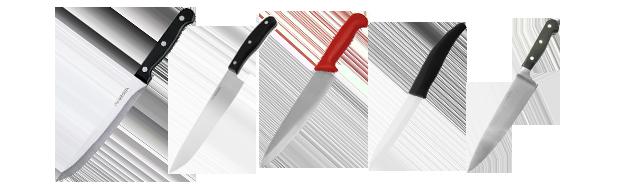 Kokkeknive-blandet